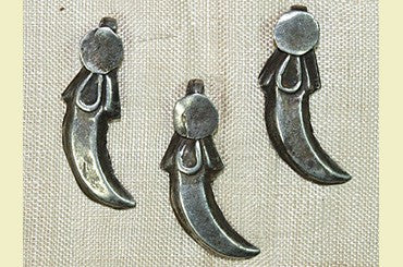 Old Silver Dagger Dangle, India