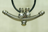 Small Traditional Silver Pendant from India