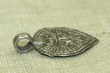 Small Silver Krishna Pendant from India