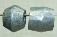 Large Cast Aluminum Beads from Kenya