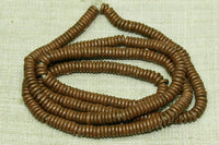 3-4mm Copper Heishi from Kenya