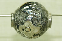 Sterling Silver Elephant Bead from Nepal