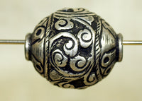 New Sterling Silver Bead from Tibet