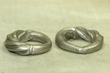 Large antique Silver Hair Ring from Niger