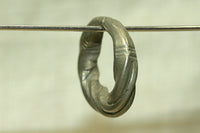 Small Twisted Antique Hair Ring from Niger
