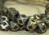 Strand Silver Tone 7mm Cornerless Cubes from Niger