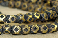 Strand brass 7mm Cornerless Cubes from Niger