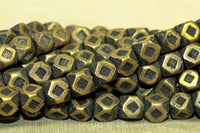 Strand brass 8mm Cornerless Cubes from NIger