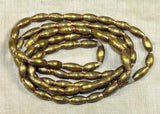 "Brass ""Football"" Beads from Nigeria"