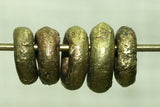 New Small Rough Brass Ring from Nigeria