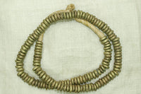 Strand of Brass Rings (Newer) from Nigeria