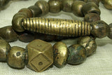 Antique Nigerian Bronze & Brass beads