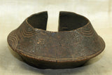 Heavy, huge Bronze anklet from Nigeria