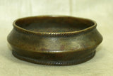 Large Brass anklet from Nigeria