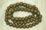 Small Brass Cast Beads from Nigeria or Togo