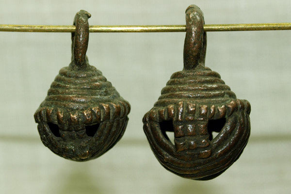 Antique Brass Bell from Cameroon