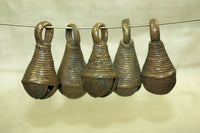 Set of Funky Nigerian Brass Bells