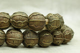 Strand Brass Beads from Nigeria