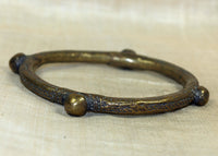 Large, Heavy Brass bracelet from Nigeria