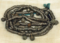 Thai-Burmese Bronze Heishi Strand with Bells!
