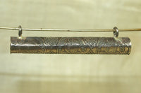 Brass Buddhist Prayer Scroll from Thailand