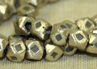 Strand Small 4mm Brass Cornerless Cubes