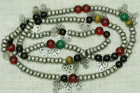 Traditonal Mauritanian Strand of Metal/Glass Beads