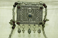 Antique Silver Prayer Box Necklace