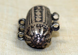 Antique Silver Capsule Pendant from Yemen
