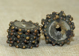 Unusual Antique Brass Spacers from Yemen