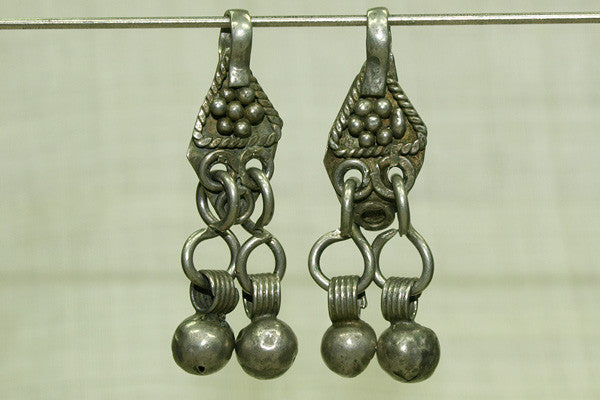 Antique Silver Drop from Yemen