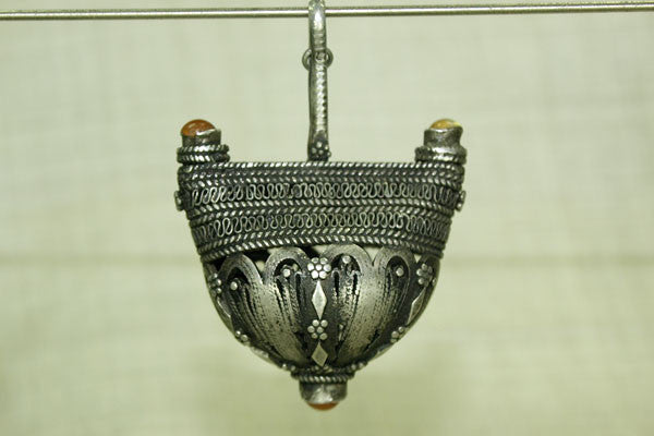 Rare Silver Pendant from Yemen