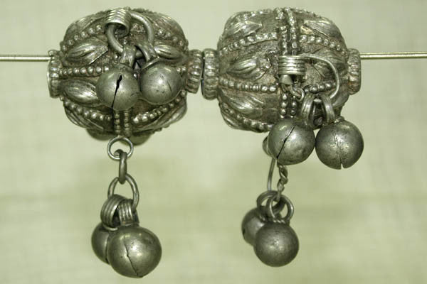 Four Vintage Silver Beads from Yemen