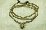 Yoruba Fabricated Brass Necklace