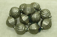 Large Silver Beads by The Harrar people of Ethiopia