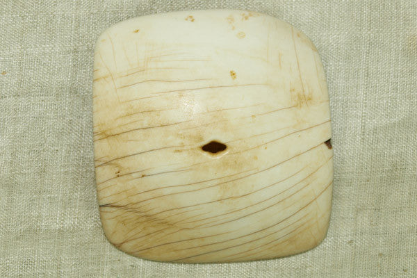 Tribal Conch Shell Pendant from Nagaland