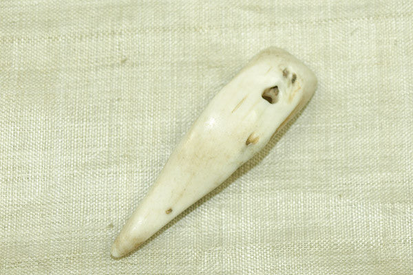 Small Tribal Conch Shell Pendant from India