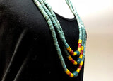 Vintage Nagaland Necklace of Glass Beads