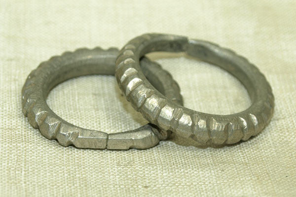 Silver Hair Ring from Niger