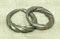 Small antique Silver Hair Ring from Niger