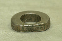 Antique Silver Hair Ring from Niger