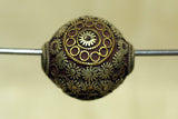 Antique Mixed Metal Ojime Bead from Japan
