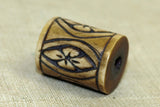 Antique bone Ojime bead from Japan