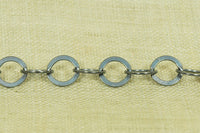 5mm Round, Flattened Chain