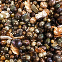 Brown Fresh Water Pearl Mix
