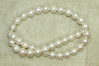Strand of Gorgeous High Luster 10mm Pearls