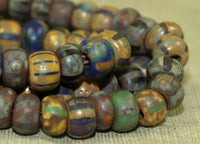Vintage 6º Pony Beads with Picasso Finish