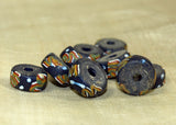 Antique Glass Disc Glass Beads Traded in Nigeria