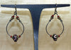 Pair of Antique Venetian Glass Bead Earrings from Ruth!