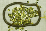 6mm Faceted Gold Sequins